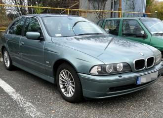 BMW Serii 5 E39 - Cena wymiany tarcz hamulcowych