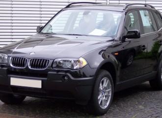 BMW X3 E83 - Cena wymiany tarcz hamulcowych