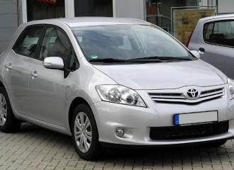 Toyota Auris I - Cena wymiany klocków hamulcowych