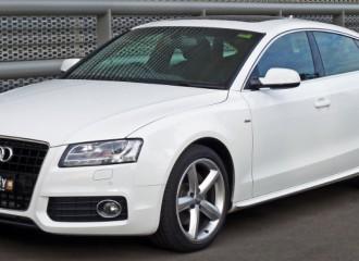 Audi A5 I - Cena wymiany tarcz hamulcowych