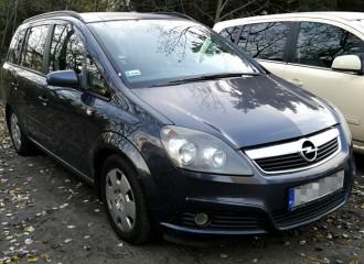 Opel Zafira B - Cena wymiany tarcz hamulcowych