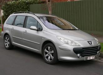Peugeot 307 II - Cena wymiany tarcz hamulcowych