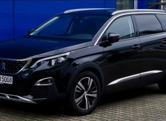 Peugeot 5008 II diesel - cena przeglądu okresowego po 25 tyś. km / 12 miesiącach