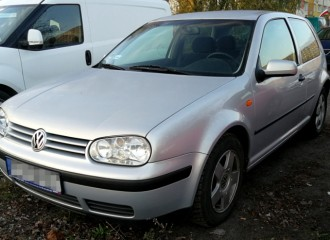 Volkswagen Golf IV - Cena wymiany filtra paliwa