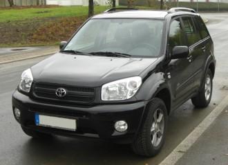 Toyota Rav4 II - Cena wymiany filtra paliwa