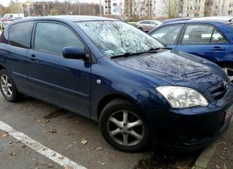 Toyota Corolla IX - Cena wymiany filtra paliwa