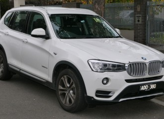 BMW X3 F25 - Cena wymiany filtra powietrza