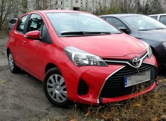Toyota Yaris III benzyna - cena przeglądu okresowego dużego