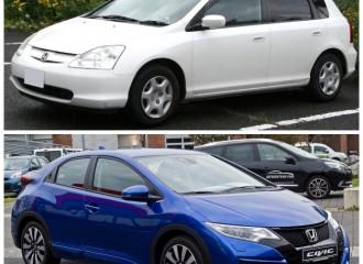 Honda Civic VII - Cena napełnienia klimatyzacji