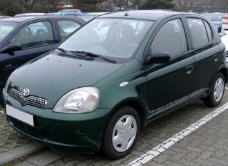 Toyota Yaris I - Cena napełnienia klimatyzacji