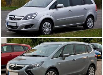 Opel Zafira B - Cena napełnienia klimatyzacji