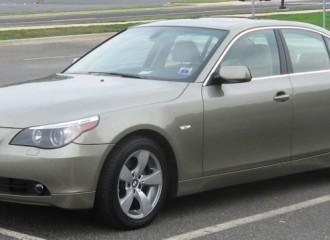 BMW Serii 5 E60 - Cena wymiany płynu chłodniczego