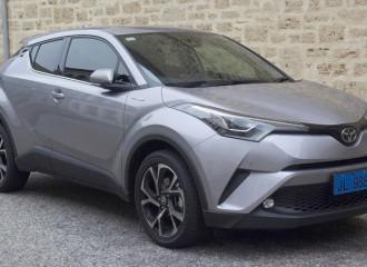 Toyota C-HR benzyna - cena przeglądu okresowego po 30 tyś. km / 24 miesiącach