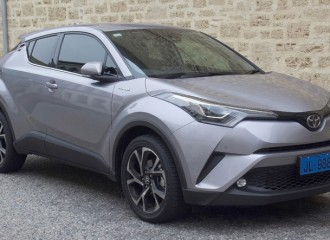 Toyota C-HR benzyna - cena przeglądu okresowego dużego