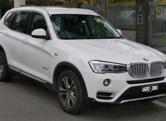 BMW X3 F25 - Cena wymiany płynu chłodniczego
