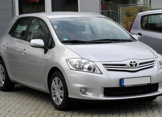 Toyota Auris I - Cena wymiany płynu chłodniczego