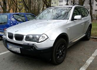 BMW X3 E83 - Cena wymiany płynu hamulcowego