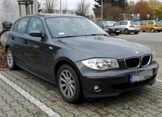BMW Serii 1 E81-87 - Cena wymiany płynu hamulcowego