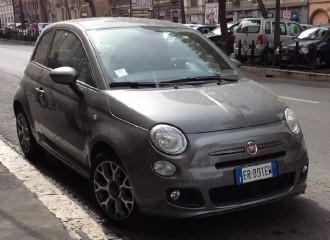 Fiat 500 II - Cena ustawienia zbieżności kół