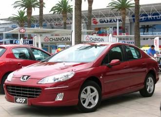 Peugeot 407 - Cena ustawienia zbieżności kół