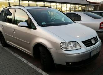 Volkswagen Touran I - Cena ustawienia zbieżności kół