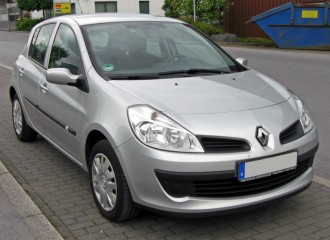 Renault Clio III - Cena ustawienia zbieżności kół