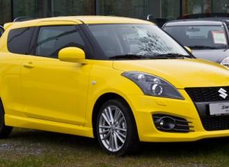 Suzuki Swift V - Cena wymiany płynu hamulcowego