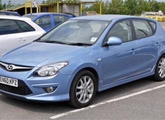 Hyundai i30 - Cena wymiany płynu hamulcowego