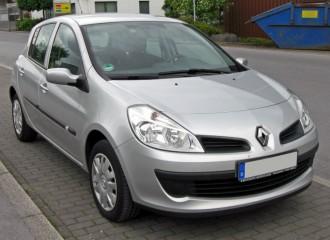 Renault Clio III - Cena wymiany filtra kabinowego
