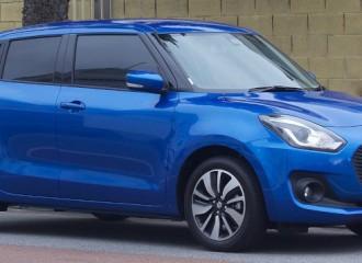 Suzuki Swift V - Cena wymiany klocków hamulcowych