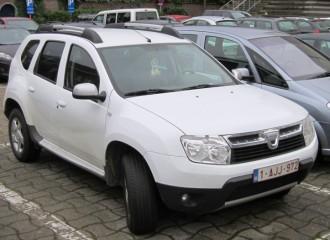 Dacia Duster I - Cena wymiany tarcz hamulcowych