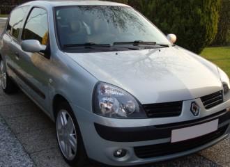 Renault Clio II - Cena wymiany tarcz hamulcowych