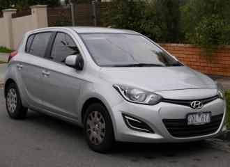 Hyundai i20 - Cena wymiany tarcz hamulcowych
