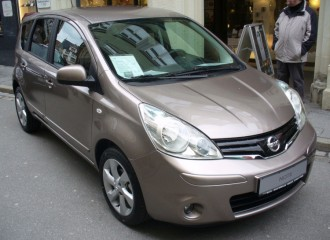 Nissan Note I - Cena wymiany tarcz hamulcowych