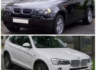 BMW X3 (E83, F25) - Cena wymiany łożyska koła przód/tył