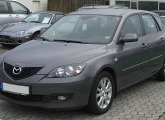 Mazda 3 (I) - Cena wymiany tłumika końcowego