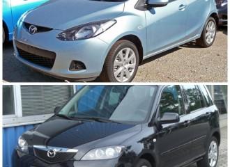 Mazda 2 (I, II) - Cena wymiany tłumika końcowego