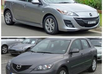 Mazda 3 (I, II)  - Cena wymiany końcówki drążka kierowniczego