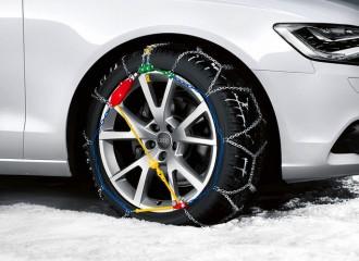 Jak zakładać łańcuchy śniegowe?