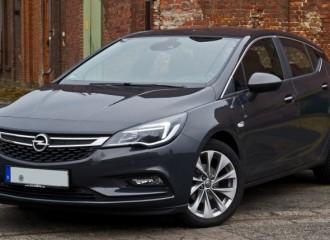Opel Astra K benzyna - cena przeglądu okresowego dużego