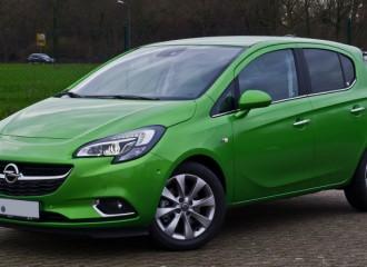 Opel Corsa E diesel - cena przeglądu okresowego dużego