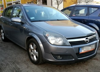 Opel Astra H - Cena wymiany klocków hamulcowych