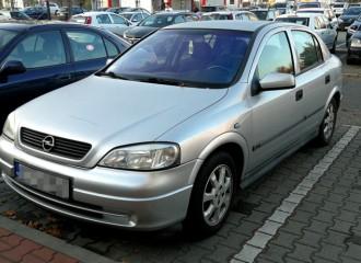 Opel Astra G - Cena wymiany klocków hamulcowych