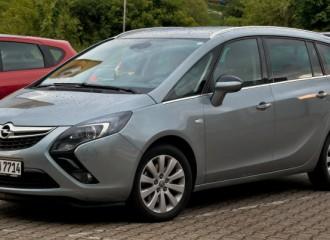Opel Zafira C benzyna - cena przeglądu okresowego po 60 tyś. km / 24 miesiącach