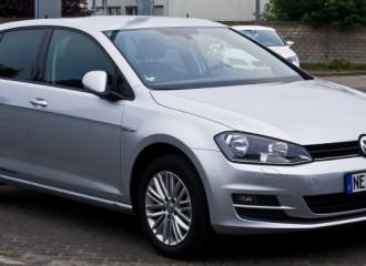 Volkswagen Golf VII diesel - cena przeglądu okresowego po 15 tyś. km / 12 miesiącach