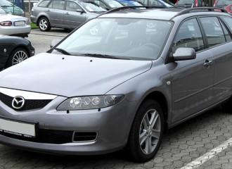 Mazda 6 I - Cena wymiany klocków hamulcowych