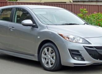 Mazda 3 II - Cena wymiany klocków hamulcowych