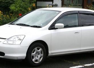 Honda Civic VII - Cena wymiany klocków hamulcowych
