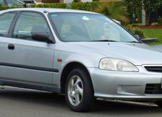 Honda Civic VI - Cena wymiany klocków hamulcowych