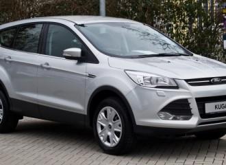 Ford Kuga II diesel - cena przeglądu okresowego małego